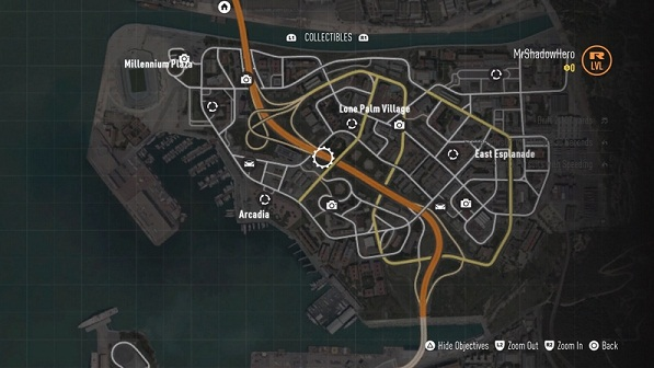 Collectibles, Burnwood District Map, Need for Speed, NFS 2015