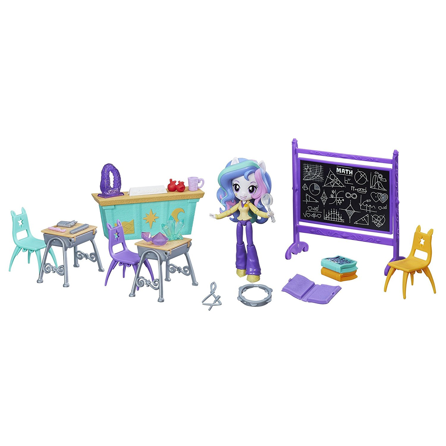 Eqg Minis Lessons And Laughs Class Set Gets Images  Mlp Merch-3266