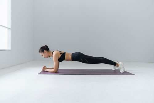 Cara Melakukan Gerakan Olahraga Plank