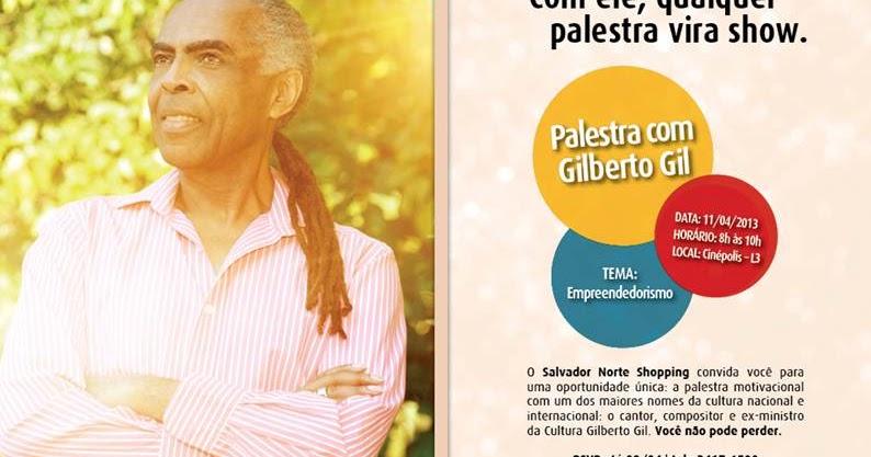 Salvador Por Stefano Diaz Gilberto Gil Faz Palestra No
