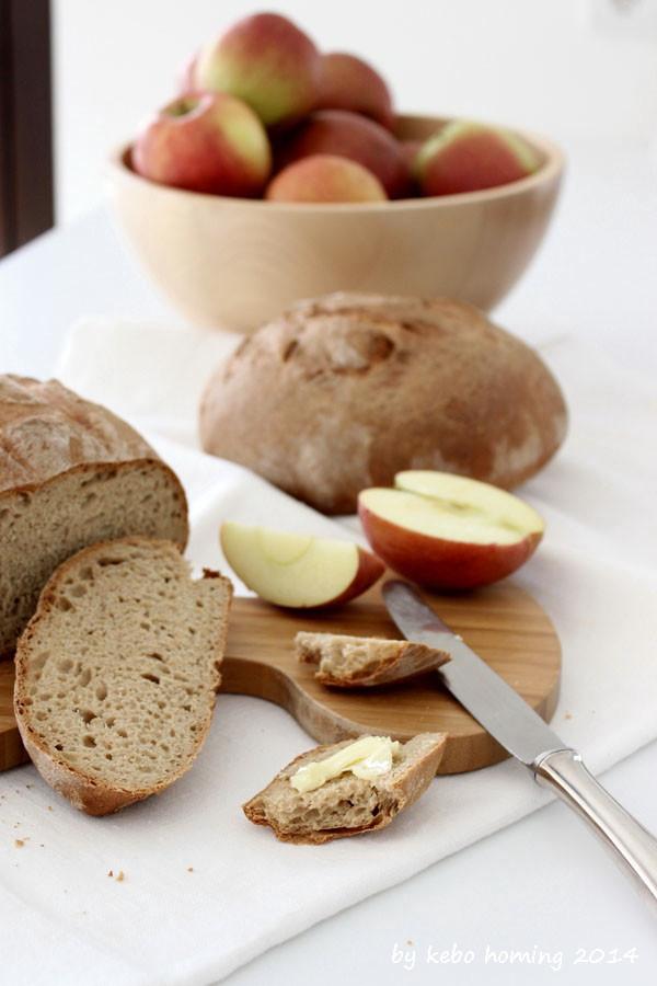 Backen Brot Bauernbrot Roggenbrot Roggenmischbrot Laib Südtiroler Marende