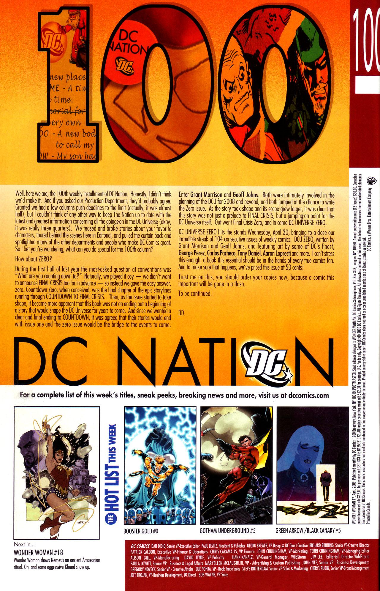 Read online Wonder Woman (2006) comic -  Issue #17 - 24
