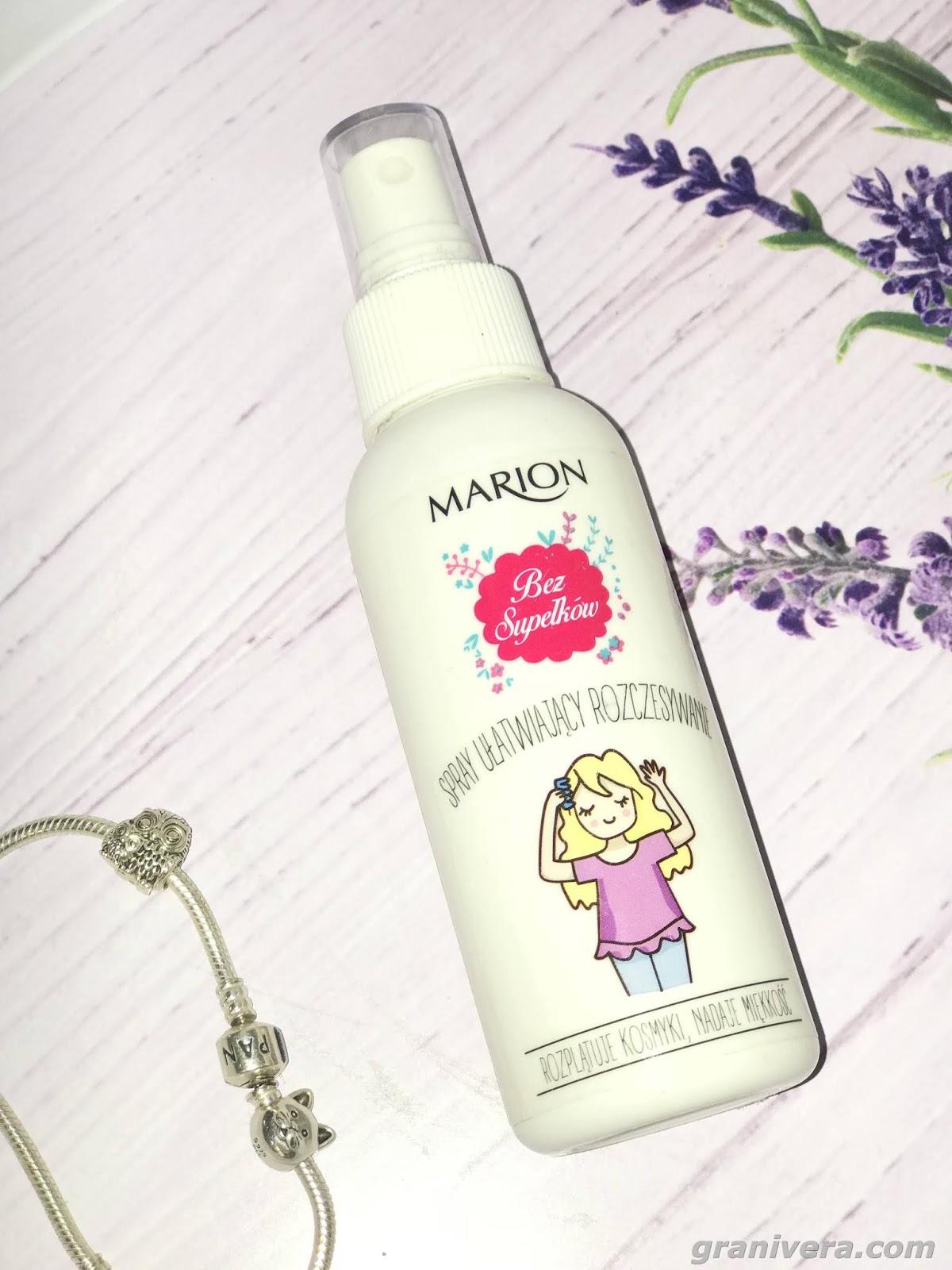 Magiczny spray do rozczesywania włosów / bez supełków od Marion