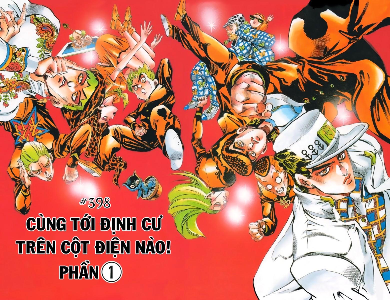 JoJo no Kimyou na Bouken Chap 398 - Truyen.Chap.VN