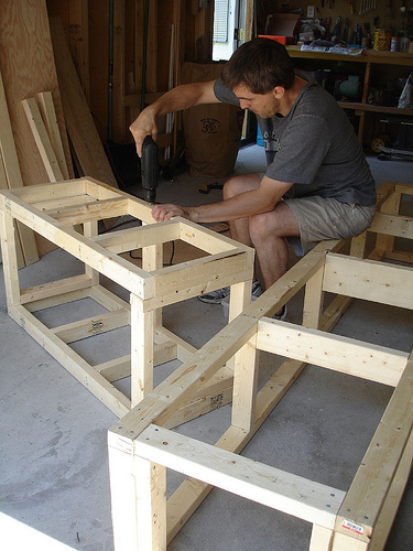 how to make an outdoor bench seat, bench with storage, outdoor l-shaped bench