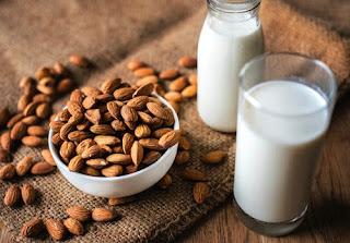 almonds milk good for healthy skin
