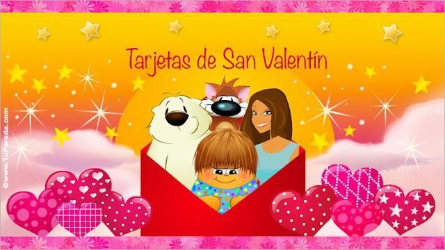 Feliz Día de San Valentín 2018 - Tarjetas de San Valentin - Saludos del día de San Valentín