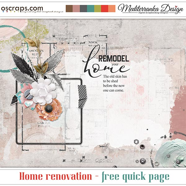 HOME RENOVATION + CHANCE TO WIN + FREE QUICK PAGE