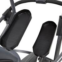 Elliptical pedals on Teeter FreeStep Recumbent Cross Trainer