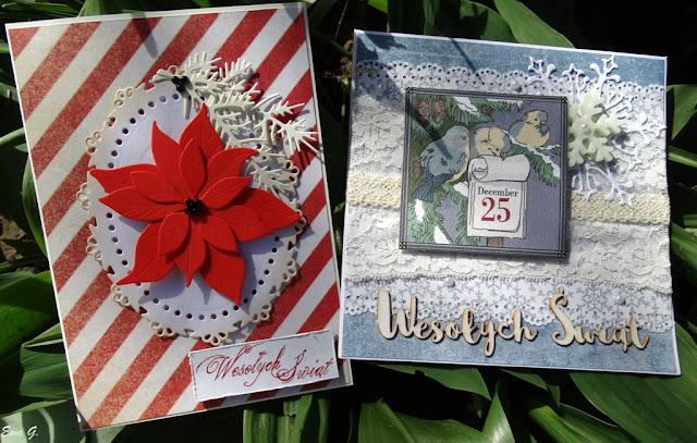Majowe kartki bożonarodzeniowe