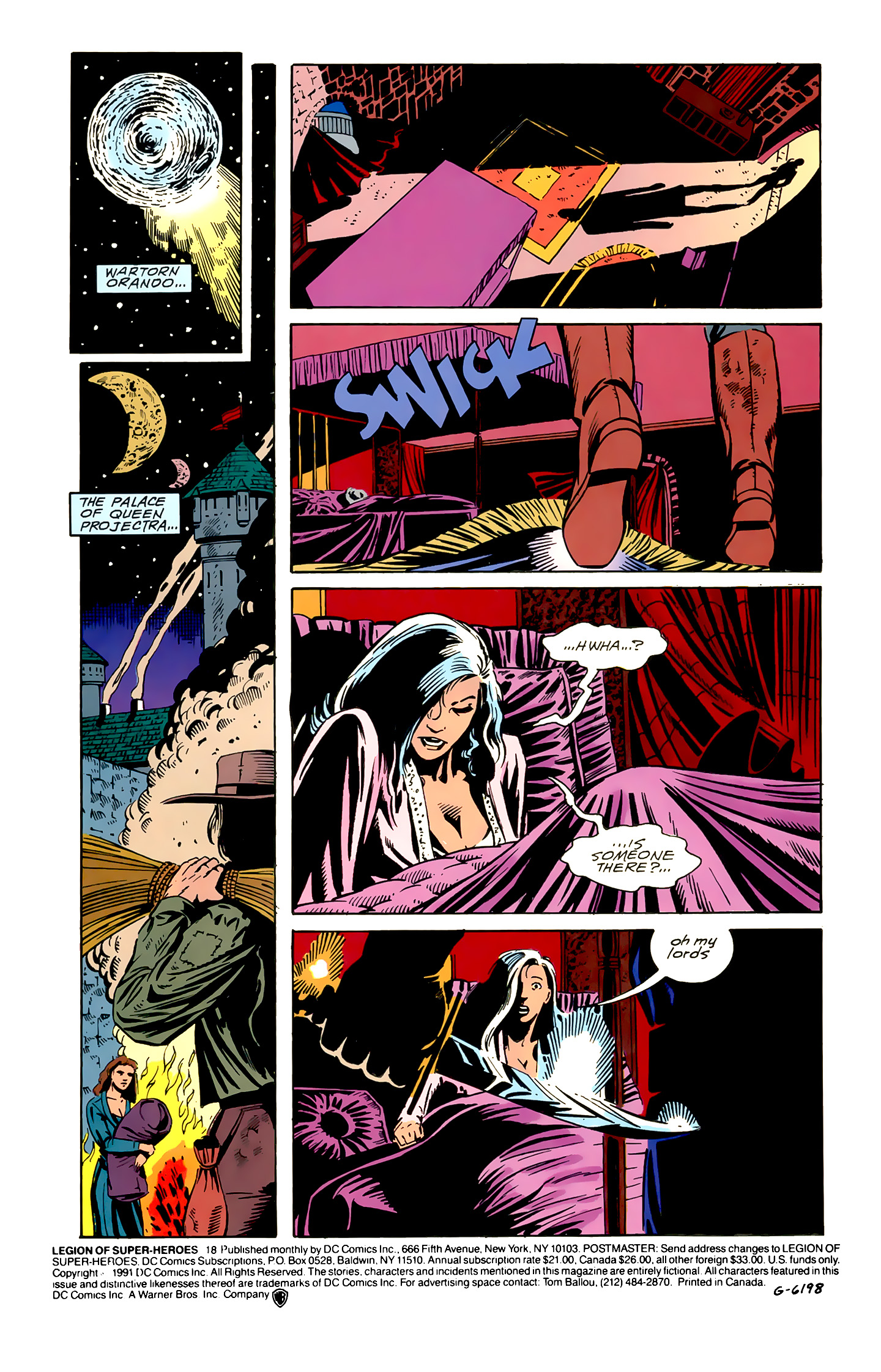 Legion of Super-Heroes (1989) 18 Page 1