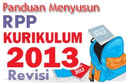 Panduan Menyusun RPP (SD,SMP, SMA/SMK/MA) sesuai Kurikulum 2013 Revisi