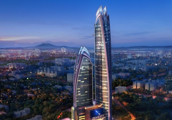 """Iconic $110 Million Hilton Nairobi Upper Hill Marks Hilton Hotels & Resorts' 50th Property in Africa   NAIROBI, Kenya, October 3, 2016/ -- Hilton Worldwide (NYSE:HLT) (www.HiltonWorldwide.com) has signed a management agreement with Jabavu Village Ltd to open a 255 guest-room and suite hotel in Kenya's capital. The hotel is set to open in 2020 and joins 50 Hilton Hotels & Resorts properties trading or under development in 17 countries across Africa.  """"In recent years Upper Hill has grown to become a hub for international businesses and organisations, with a number of embassies and organisations setting up their regional offices in the district, including Cisco Systems, World Bank and the IMF,"""" said Patrick Fitzgibbon, senior vice president, development, EMEA, Hilton Worldwide. """"The striking new-build property will pierce the skyline of Upper Hill and will be well placed to meet this growing demand in one of Nairobi's most exciting and colourful areas.""""  Kenya is one of Africa's fastest growing economies with strong growth in agricultural, tourism, construction and telecommunication sectors. The country's diversifying economy means it is a popular destination, busy with leisure and business travellers.  Mr Mahat Noor, Project Director of Jabavu Village Ltd, said, """"Hilton Nairobi Upper Hill is our first project with Hilton and we are tremendously excited to be collaborating with them on this spectacular development. Hilton Nairobi Upper Hill and the larger mixed-use development, which will include a residential, retail and entertainment complex, as well as an adjacent office tower, will be Africa's tallest building, standing at 330m."""""""