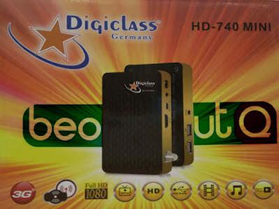تشغيل BeoutQ على Digiclass 740 730 Mini بدون انترنيت