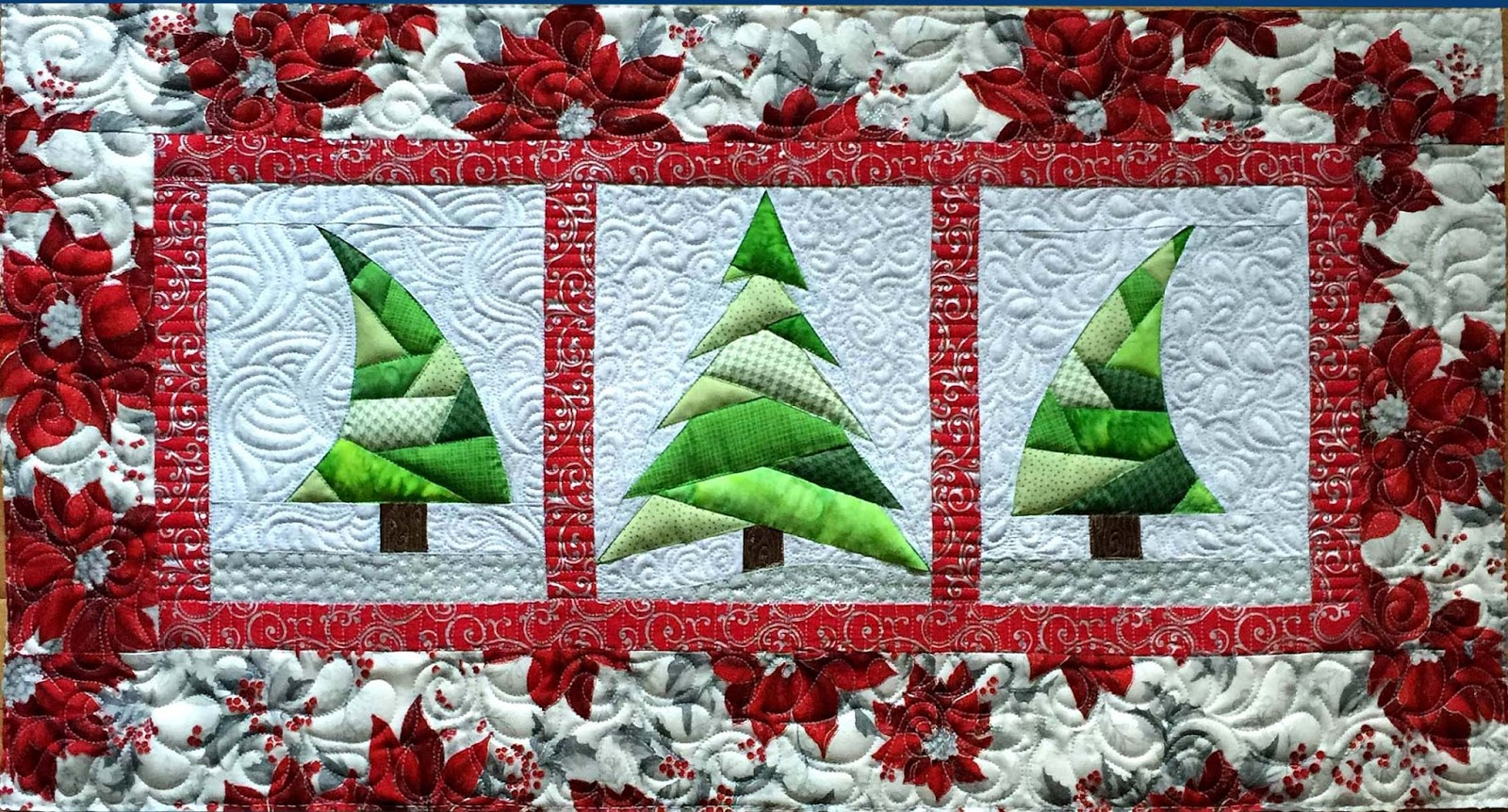 Christmas Is Coming! Free Trio Christmas Tree Pattern