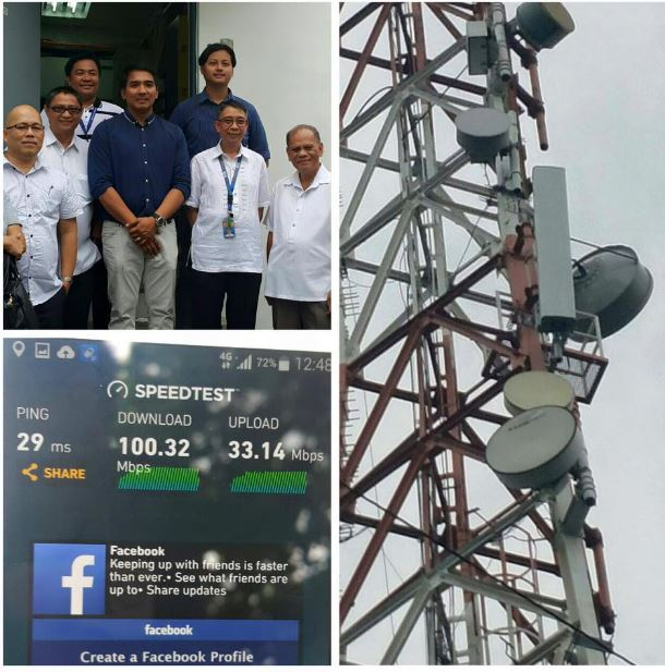 Globe fires up 700 MHz-powered LTE cell site Diliman