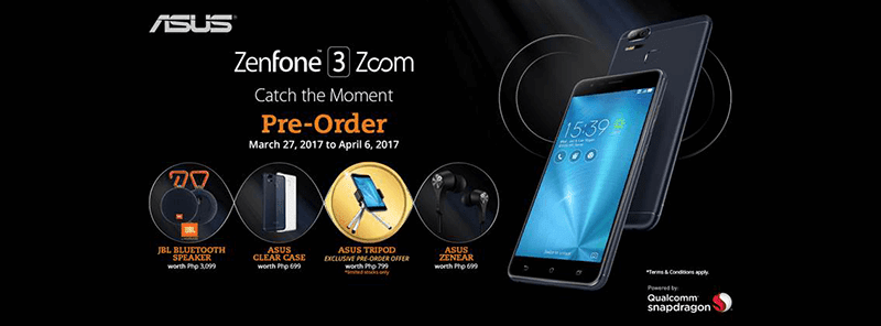 Asus ZenFone 3 Zoom PH Pre Order Now Live!