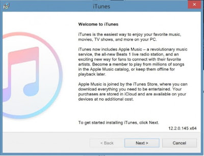 Cara Menginstal Aplikasi Apple Music di Windows