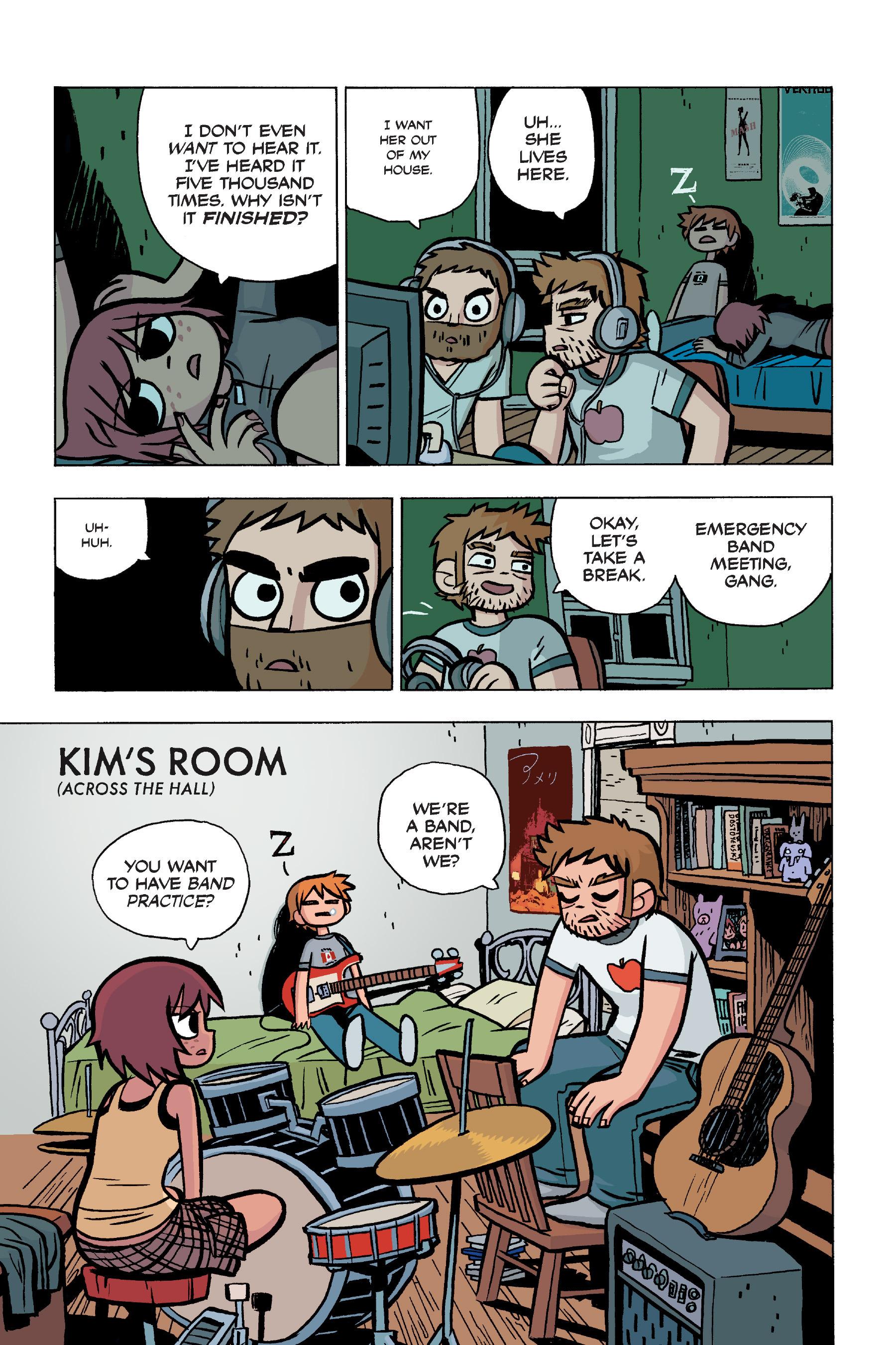 Read online Scott Pilgrim comic -  Issue #5 - 34