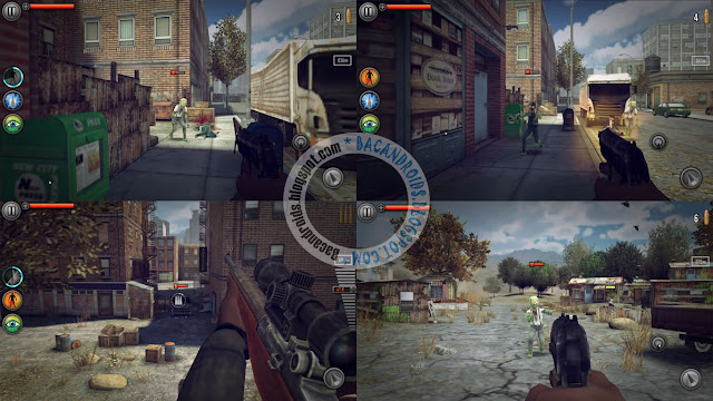 Last Hope Sniper Zombie war APk terbaru Mod Money premium