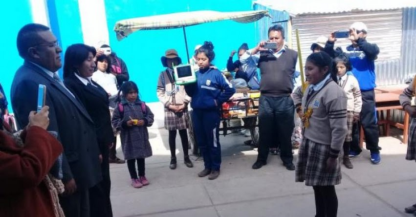 FONDEP: UGEL Chucuito - Juli finalista de concurso de buenas prácticas de gestión recibió visita del Minedu - www.fondep.gob.pe