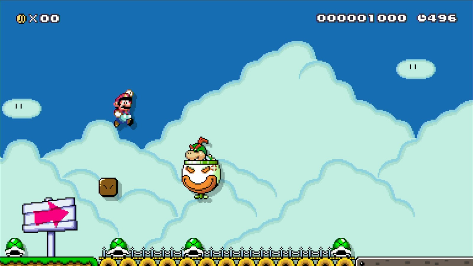 Chalgyr's Game Room: Super Mario Maker - Wii U Review