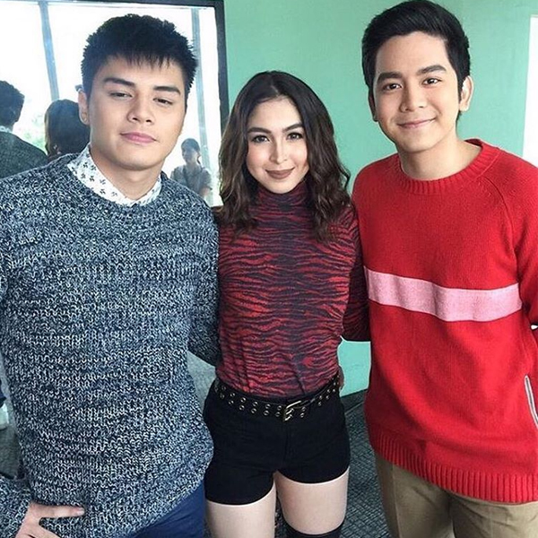 Ronnie Alonte, Julia Barretto, Joshua Garcia for Vince & Kath & James