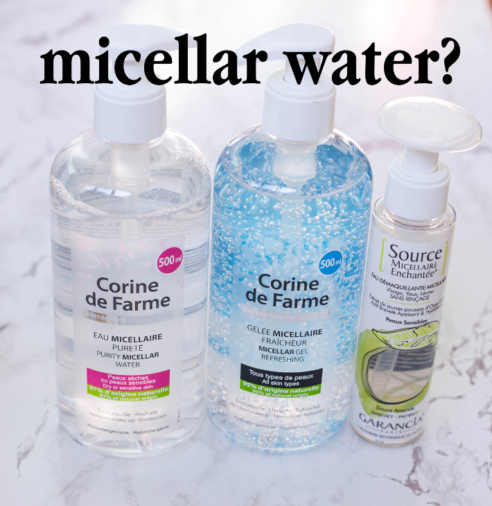 Beauty: micellar waters and oil cleansers: what cleanser should you use?