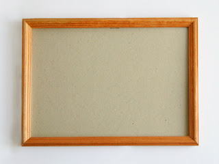 Декор рамки для фотографий крупой