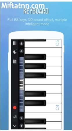 Aplikasi Bermain Piano Android Perfect Piano APK Terbaru