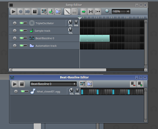 beat+bassline dan song editor