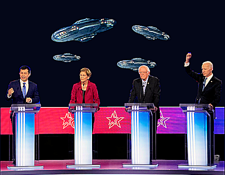 2020 Presidential Candidates Answer UFO Questions