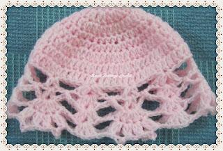 free crochet baby cap pattern