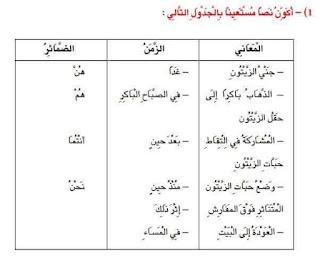 2 - كراس العطلة عربية سنة ثالثة