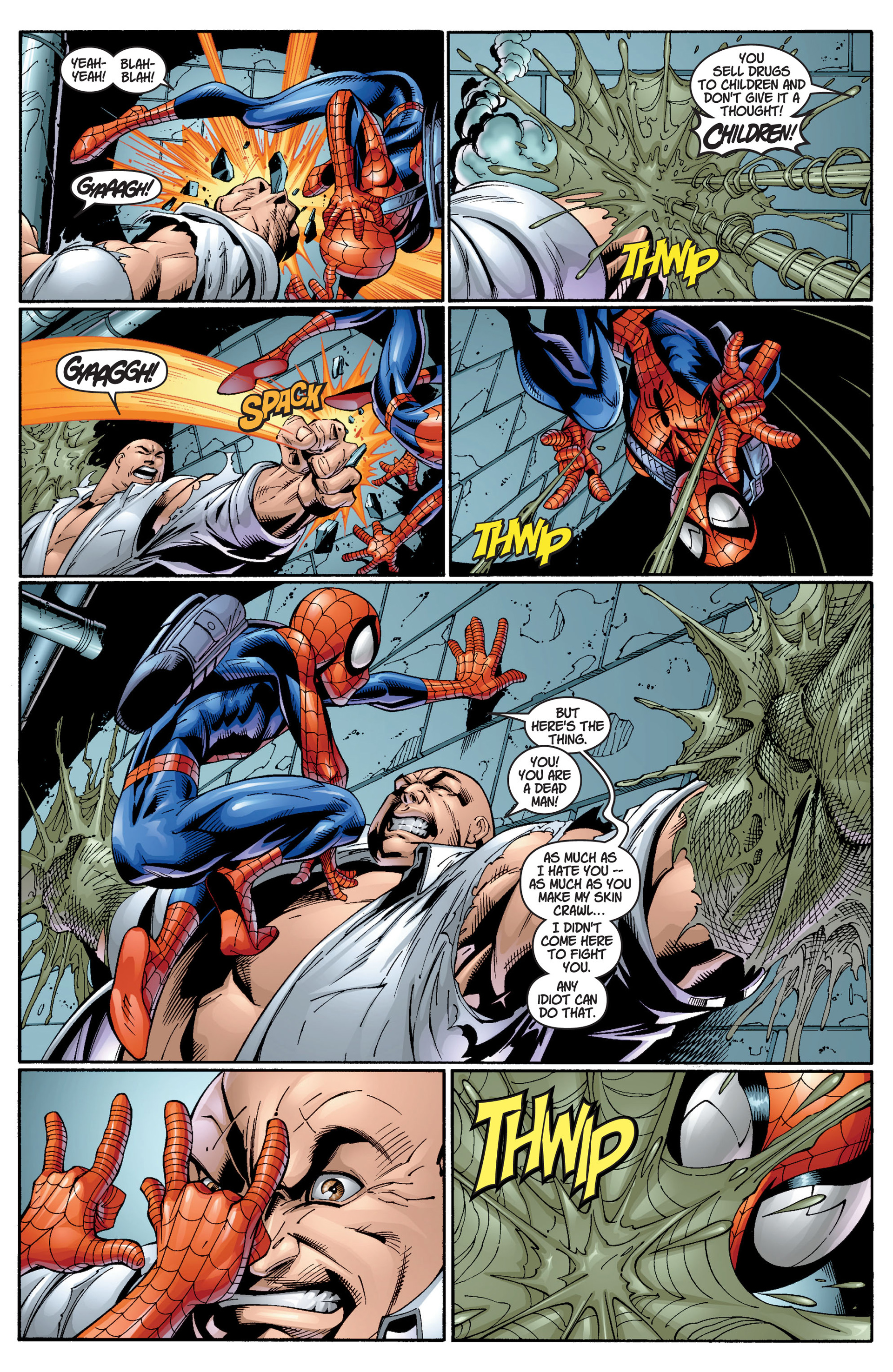 Read online Ultimate Spider-Man (2000) comic -  Issue #12 - 15