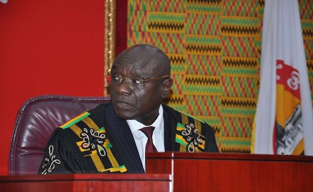 Speaker orders Oti Bless: Apologise to Chief Justice