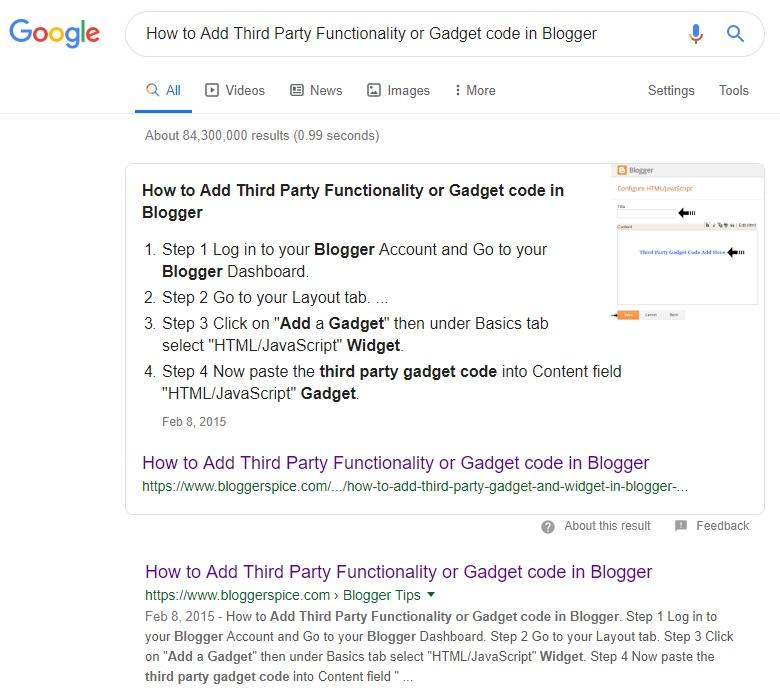 tampilkan cuplikan unggulan Anda di halaman hasil mesin pencari Google.