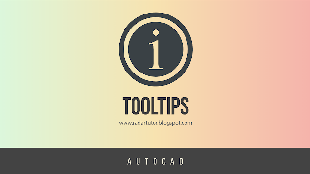 AutoCAD: Tooltips
