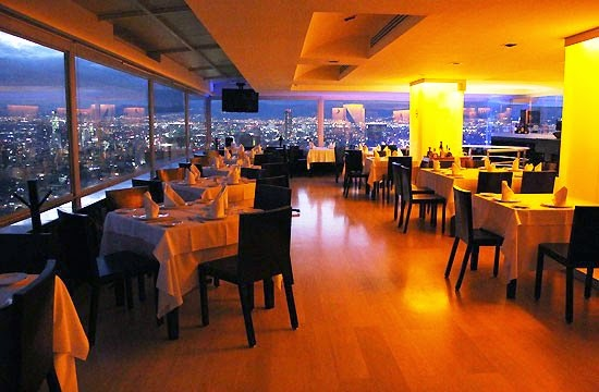 Restaurante Miralto na Torre Latinoamericana
