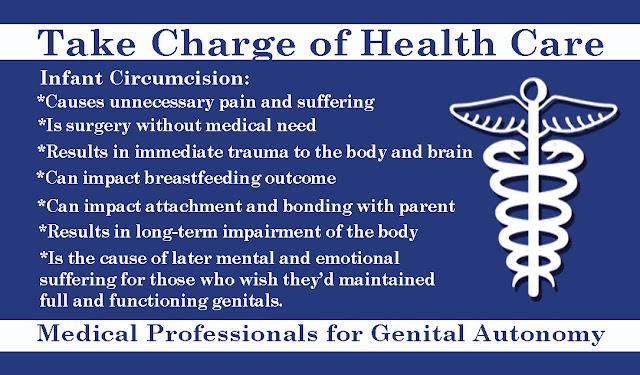 Intact vs Circumcised Adult Info Postcards