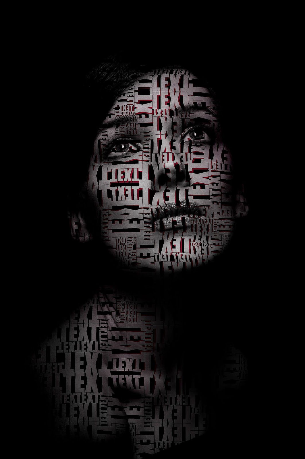 Transform a picture into a cool Text portrait — Photoshop Tutorial