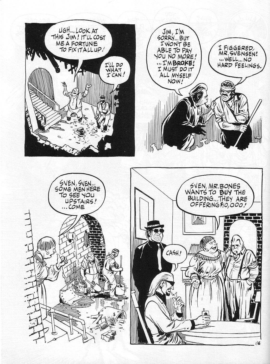Read online Dropsie Avenue, The Neighborhood comic -  Issue # Full - 118