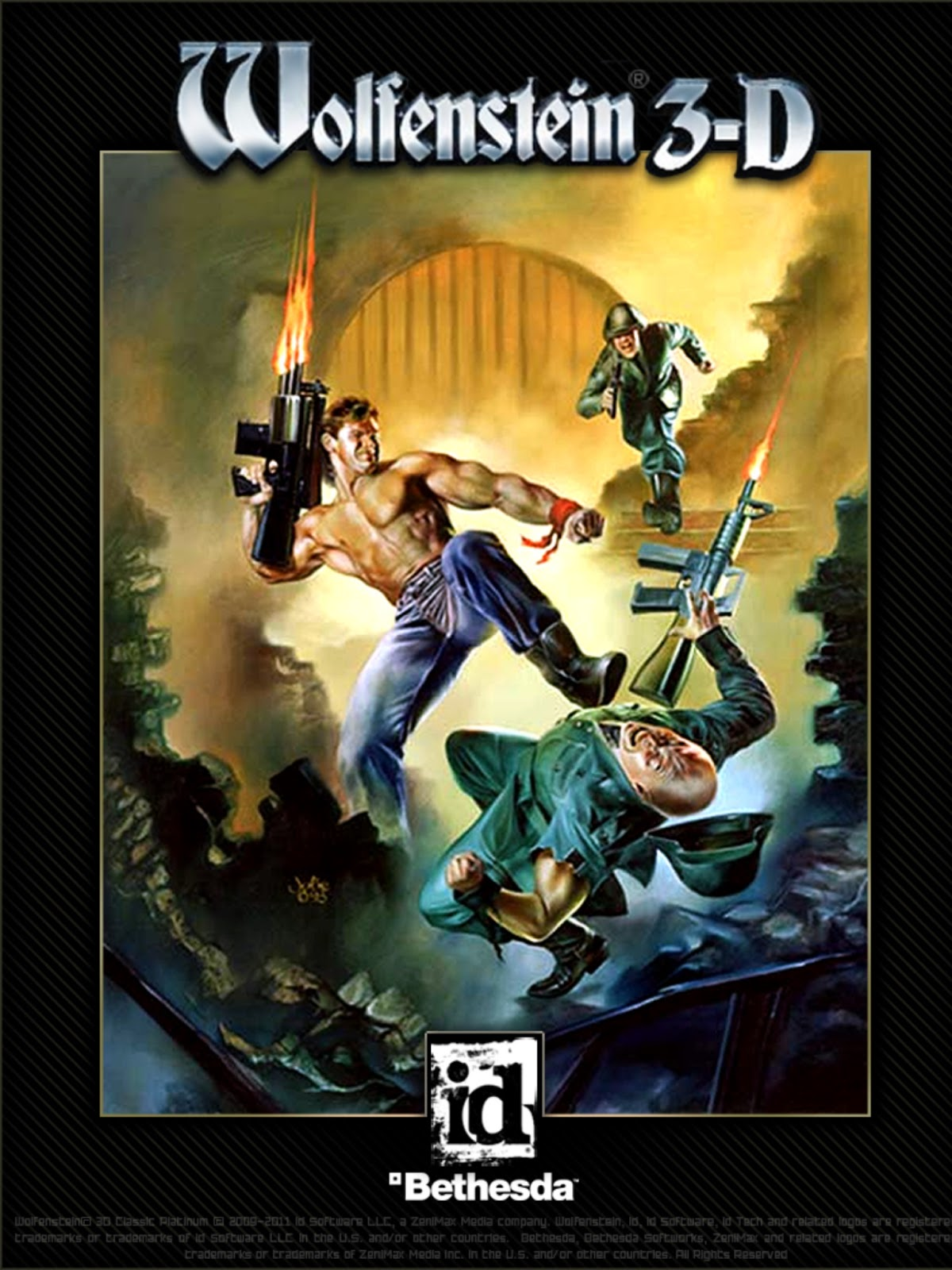 Arte da capa do Wolfenstein 3D