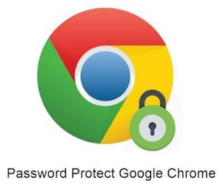 cara mempasword browser di komputer