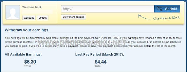 Cara Cari Uang di Internet dari Short URL ADF.ly