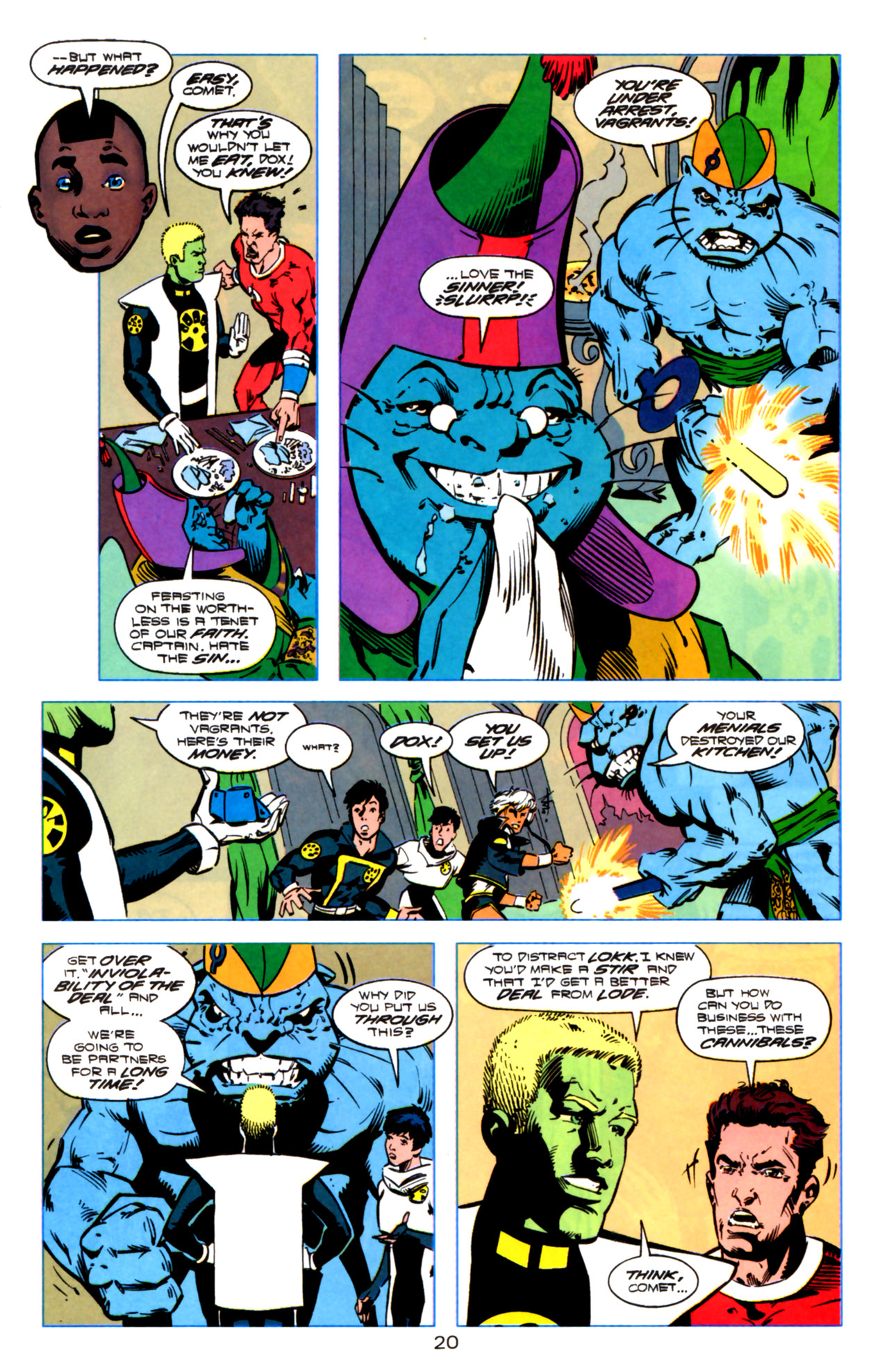 Legion of Super-Heroes (1989) 119 Page 19
