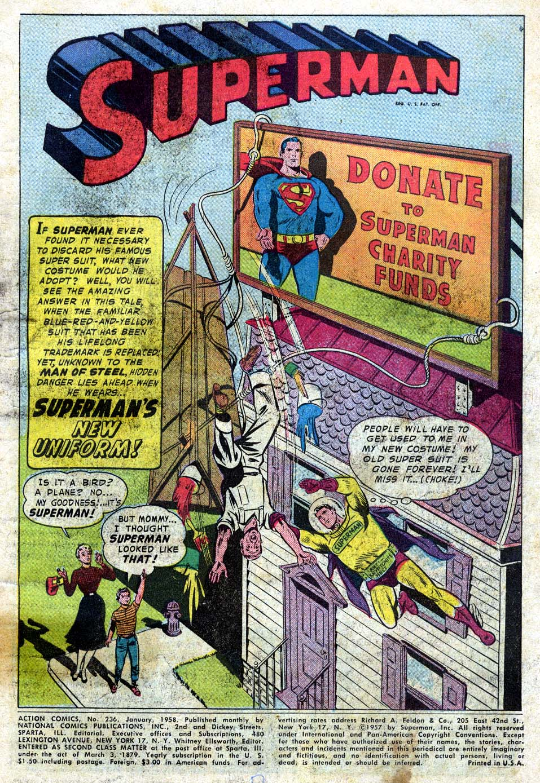 Action Comics (1938) 236 Page 2
