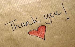 Remercier les gens que j'aime...