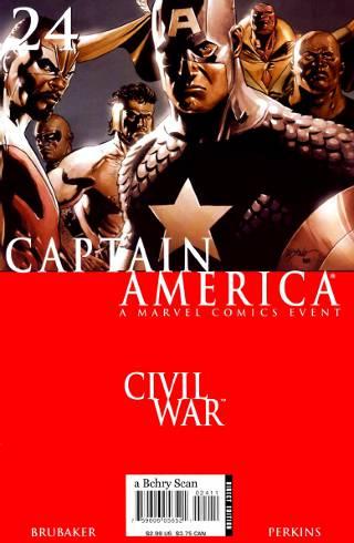Civil War: Captain America #24 PDF