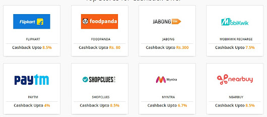 Get cashback on every shopping and recharge (all websites) - TrickyRecharge free recharge tricks,deals and coupons